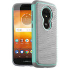 Exact Design Shock Absorbing Rugged Bumper Cover For Moto E5 Play Case 5 Colors