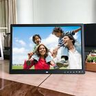 HD Digital Photo Frame 17 Inches Front Touch Buttons Multi-language LED Screen