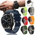 Silicone Sport Strap Watch Band For Fossil Q Founder 2.0 / Marshal / Wander US