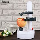 Rangnic Automatic Rotating Electric Fruits Vegetable Peeler Cutter Orange Apple