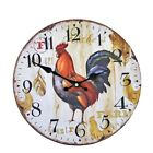 Large  Wood Wall Clocks Antique Vintage Home Watch Time Clock Furnishing  Wooden