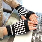 Ladies fingerless gloves hand warmers wool warm cable knit soft winter. 3 styles