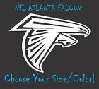 Atlanta Falcons Football Vinyl Decal Sticker for NFL Car Truck Window Yeti Rt on eBay
