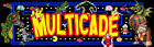Mame Arcade Multicade Marquee For Reproduction Header/Backlit Sign