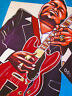 FREDDIE KING PRINT poster my feeling for the blues cd texas cannonball es guitar