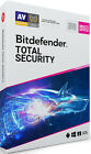 New Bitdefender Total Security 2020 | Windows 1 & 3 Years | Limited Stock