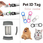 DIY Pendant Dog Cat ID Tag Pet Nameplate Puppy Protect Anti Lost Device