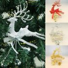 Xmas Baubles Chital Christmas Tree Ornament Reindeer Party Decoration Hanging