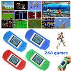 """998D Built-In 268 2"""" Handheld Portable Player Funny Kids Video Game Multigames"""