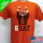 CLEVELAND BROWNS BAKER MAYFIELD ***6OAT*** T-SHIRT $19.95 USD on eBay