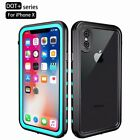 Shockproof Waterproof Armor Hard Case Full Protect Cover For iPhone X