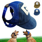Внешний вид - Breathable Mesh Dog Baseball Cap Pet Puppy Summer Sun Hats Outdoor Accessory S-L