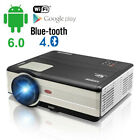 Smart Android Bluetooth Video Projector Home Theater Wireless Game HD 1080p HDMI