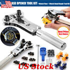 Watch Repair Back Case Opener Screw Cover Kit Watch Band Remover Watchmaker Tool image