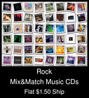 Rock(11) - Mix&Match Music CDs U Pick *NO CASE DISC ONLY*