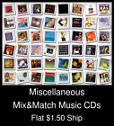 Miscellaneous(16) - Mix&Match Music CDs U Pick *NO CASE DISC ONLY*