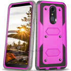 REFINED SHOCKPROOF RUGGED ARMOR Hard Phone Case Cover +BUILT-IN SCREEN PROTECTOR