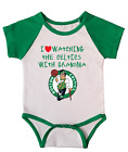 Boston Celtics Love Watching With Grandma Baby Short Sleeve Bodysuit Green on eBay