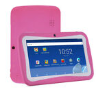 Quad Core 7Inch 8GB Kids Tablet PC Android4.4 Dual Camera HD WiFi Bundle Case