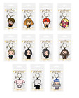 Official Harry Potter Chibi Character Keychains Novelty HP Film Keyring Gift