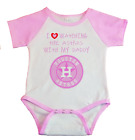 Houston Astros I Love Watching The Astros With Daddy Baby Bodysuit Pink on Ebay