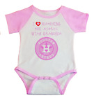 Houston Astros I Love Watching The Astros With Grandma Baby Bodysuit Pink on Ebay
