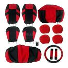 13pcs Universal Car Seat Cover Cushion Full Set Front Rear F7N3 $26.86 USD on eBay