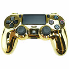 Genuine PS4 Dual Shock 4 PlayStation 4 Controller Black Gold Camo  (Refurbished)