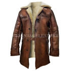 Tom Hardy Bane The Dark Knight Rises Real Leather Coat Halloween Jacket Costume