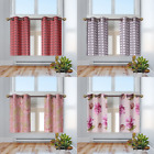 "2 Panels Grommet Insulated Blackout Pattern Design Window Curtain 63"" 84"" FLORAL"