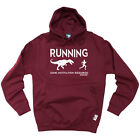 Running Hoodie Hoody Funny Novelty hooded Top - Running Some Motivation Required