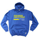 Running Hoodie Hoody Funny Novelty hooded Top - Push Harder Than Yesterday