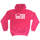 Music Band Hoodie Hoody Funny Novelty hooded Top - More Guitars