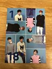 SUPER JUNIOR 2018 SEASON'S GREETINGS [MONTHLY PHOTO CARD] Official K-POP SEALED