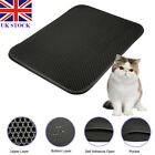 Double Layers Cat Litter Mat Floor Pad Flexible Trapping for Box Pan 46*60/55*70
