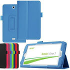 "PU Leather Flip Case Cover For Acer Iconia One B1 / Tab A1 W1 7"" 8"" 10.1"" Tablet"
