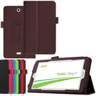 """PU Leather Flip Case Cover For Acer Iconia One B1 / Tab A1 W1 7"""" 8"""" 10.1"""" Tablet"""