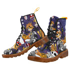 Hot Sale Fashion Womens Boots Nightmare Before Christmas Martin Boots For Girl