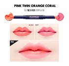 MiliMAGE Two Way Color Stick   Stylish Lip Dual Color Lipstick   5Types K-Beauty