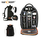 K&F Concept DSLR Camera Backpack Bag At all events for Canon Nikon Sony Laptop Waterproof