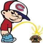 Montreal Canadiens Piss On Boston Bruins NHL Vinyl Decal - CHOOSE SIZES $11.99 USD on eBay