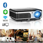 CAIWEI HD 1080p Home Theater Projector Online Movie PS4 HDMI USB Rear Projection