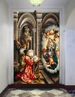 3D Angel Church Painting 2 Wallpaper Mural Print Wall Indoor Wallpaper Murals UK