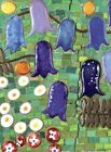 Detail of mosaic wall Gustav Klimt 1909-11 p4 Poster Canvas Picture Art A0- A4
