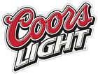 Coors Light Color Die Cut Vinyl Decal Sticker - You Choose Size