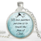 Handmade Glass Cabochon Pendant Necklaces Jewelry Gifts For Lover Bijoux Femme