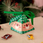 5pcs Paper Candy Box Cookie Chocolate Gift Box Birthday Christmas Party Decor