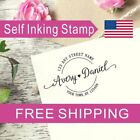 Personalized Self-inking Return Address Stamp Wedding Or Housewarming Gift AS121