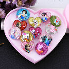 5/7 Pcs Children/Kids Mixed Lots Cartoon Plastic Rings Jewelry Gifts Girl's  uk