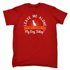 Funny Novelty T-Shirt Mens tee TShirt - Leave Me Alone Im Only Talking To My Dog